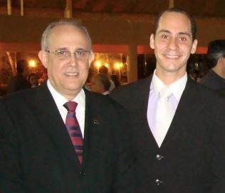 Os médicos Luis Augusto Passeri e Bernardo Brasileiro.